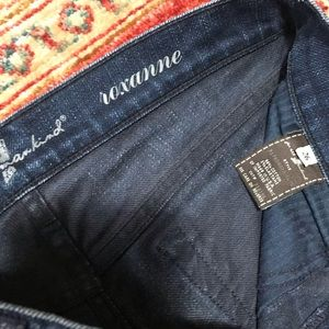 7 For All Mankind Jeans - Seven for all mankind roxanne designer blue jeans